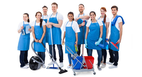 Cleanagain Ltd cleaning team